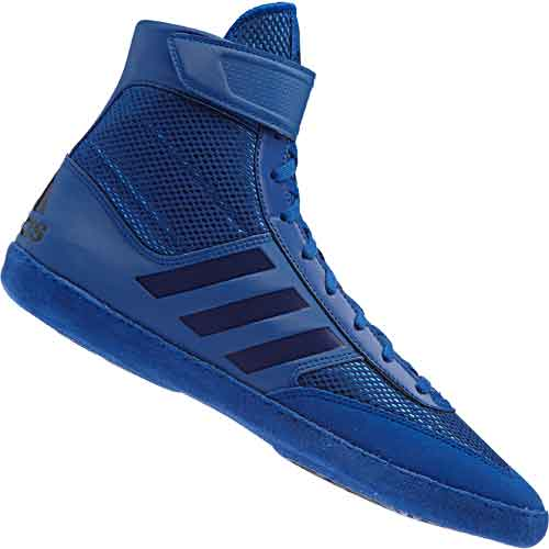 Adidas Combat Speed 5 Mens Black Wrestling Shoes Lace Up Boots