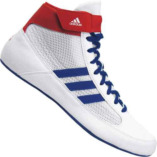 adidas HVC 2 Wrestling Shoes White