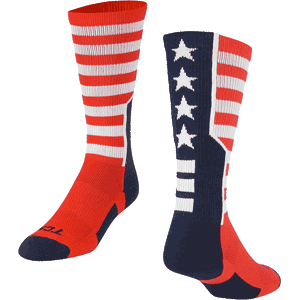 TCK Stars and Stripes Crew Socks
