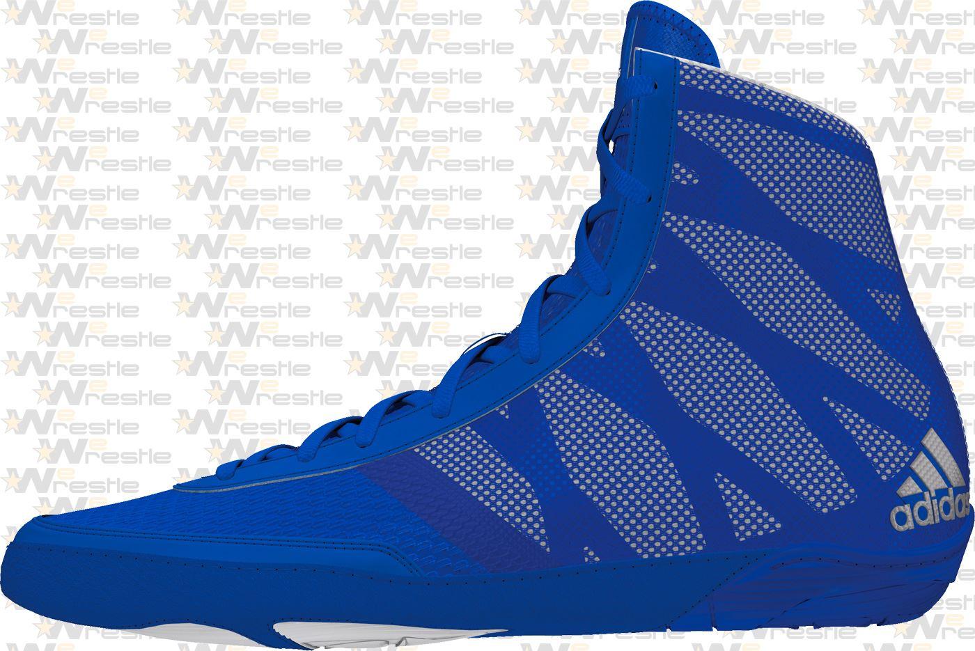 adidas Pretereo III Wrestling Shoes - Blue ...