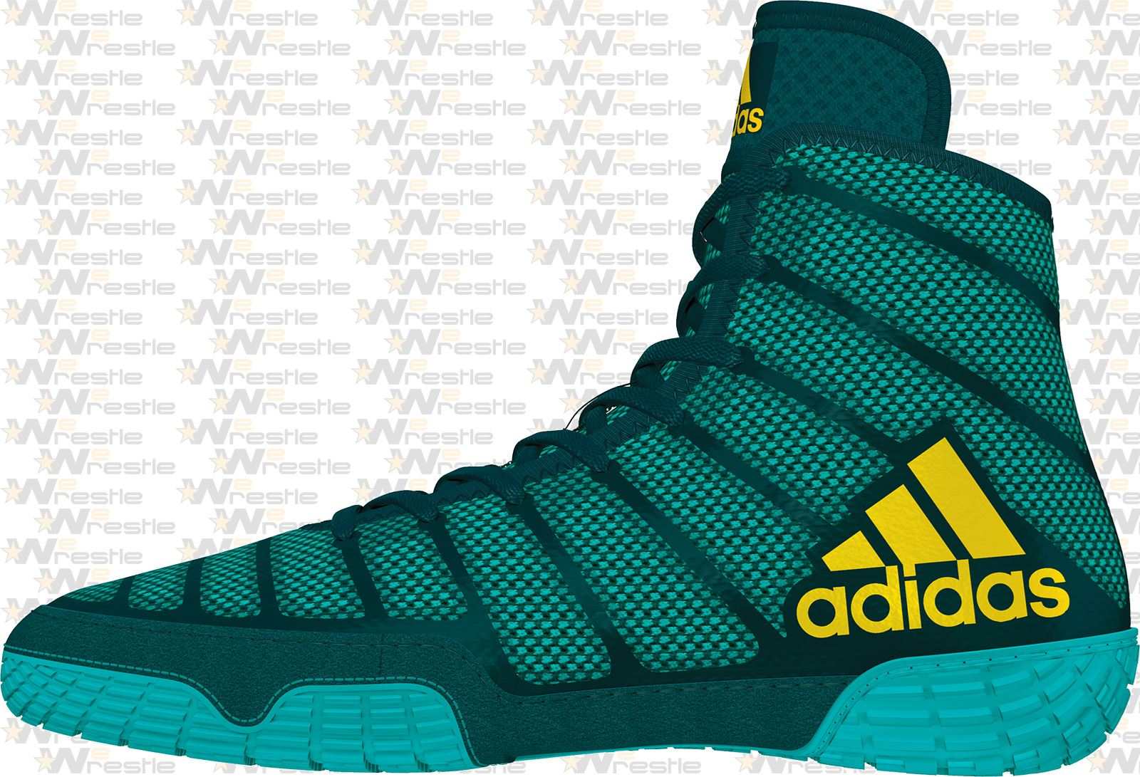 adidas Varner Wrestling Shoes Aqua