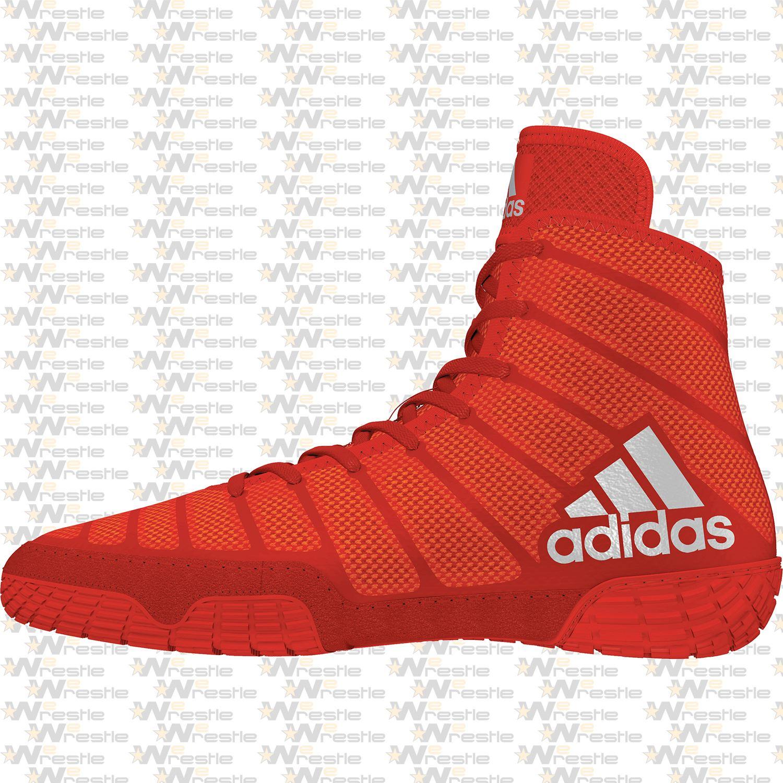 adidas adiZero Varner Wrestling Shoes - Red