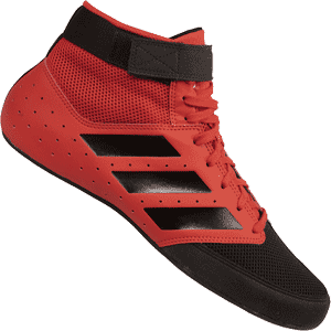 adidas Mat Hog 2.0 Wrestling Shoes - Red