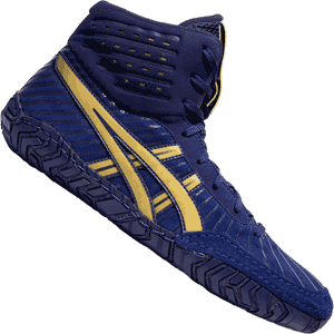 Asics Aggressor 4 Wrestling Shoes - Dive Blue