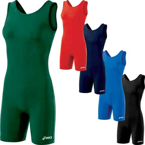 Asics Solid Modified Womens Wrestling Singlet