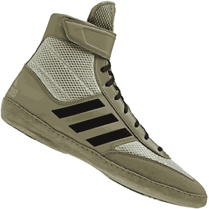 adidas Combat Speed 5 Wrestling Shoes - Tan