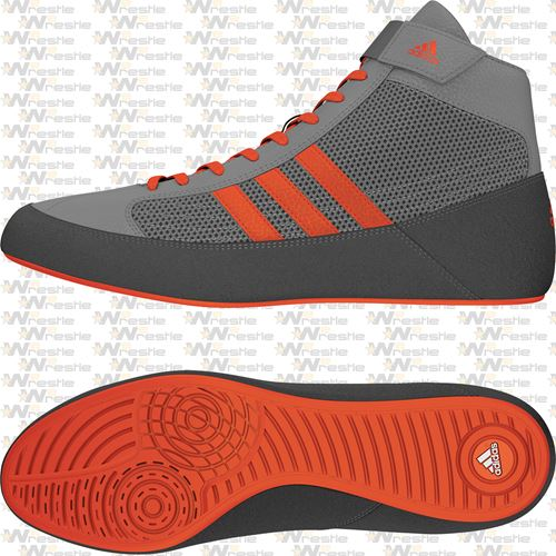 low priced b68f6 f3a43 adidas HVC 2 Youth Wrestling Shoes