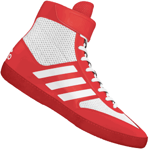 adidas Combat Speed 5 Wrestling Shoes - Red