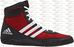 adidas Mat Wizard Wrestling Shoes - Red / Black
