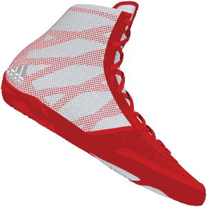 adidas Pretereo III Wrestling Shoes - Red