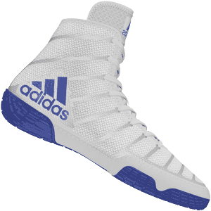 adidas Jake Varner Wrestling Shoes - Gray / Blue
