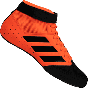 adidas Mat Hog 2.0 Wrestling Shoes - Orange