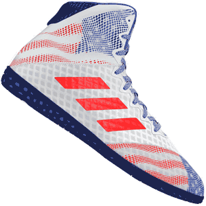 adidas Mat Wizard Hype Wrestlings Shoes - Red White Blue
