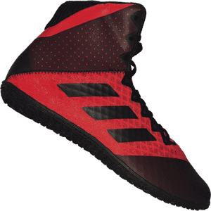 adidas Mat Wizard 4 Wresting Shoes - Red and Black