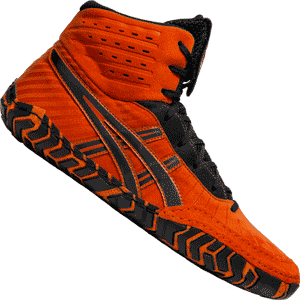 Asics Aggressor 4 Wrestling Shoes - Koi Orange