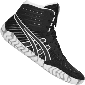 Asics Aggressor 4 Wrestling Shoes - Black
