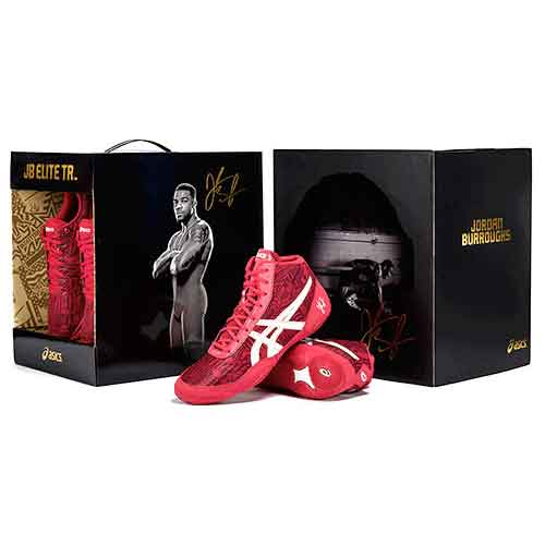 ASICS All I See Is Gold JB Elite Training Wrestling Shoes