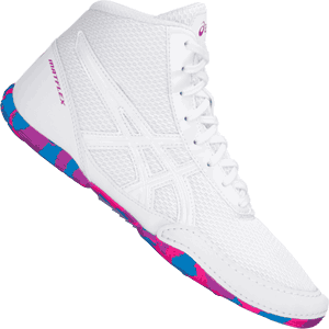 Asics Matflex 5 GS Youth Wrestling Shoes- White