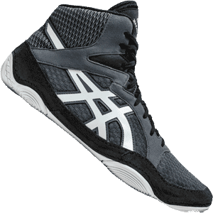 Asics Snapdown 3 Wrestling Shoes - Gray Black