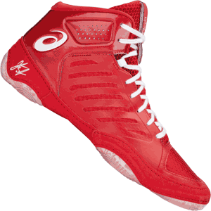 Asics JB Elite III Wrestling Shoes Red