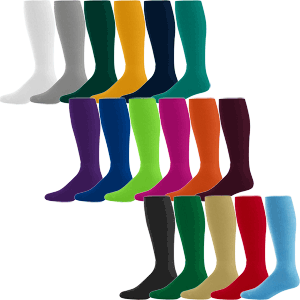 Augusta Sportswear Solid Color Team Socks